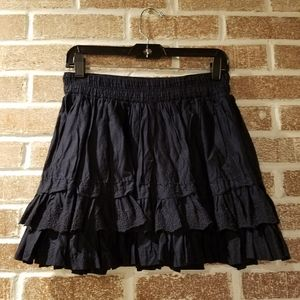 Abercrombie and Fitch womens ruffle skirt